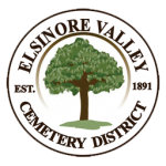 Circular Elsinore Valley Logo featuring a green tree in the center.